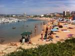 la playa del Palamos