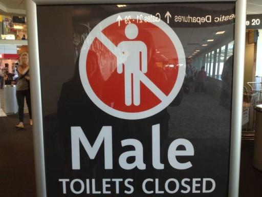 Funny Toilet Signs in Wellingotn