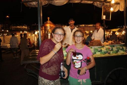 tea in the marrakesh