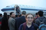 Our Interesting and Amusing Flight from Chengdu to Beijing, China