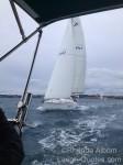 celebrating yacht racing