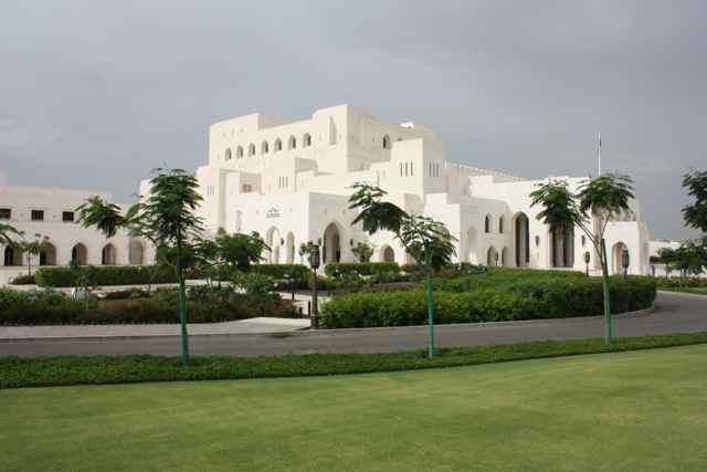 Muscat Opera House in Oman