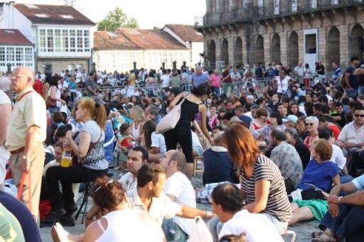Santiago de Compostela on St. James Day