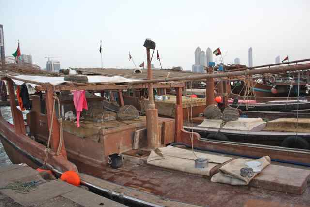 fish market in Abu Dhabi