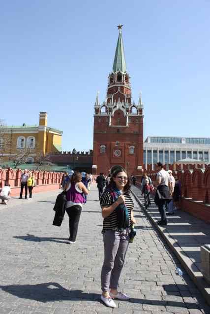 entering the Kremlin