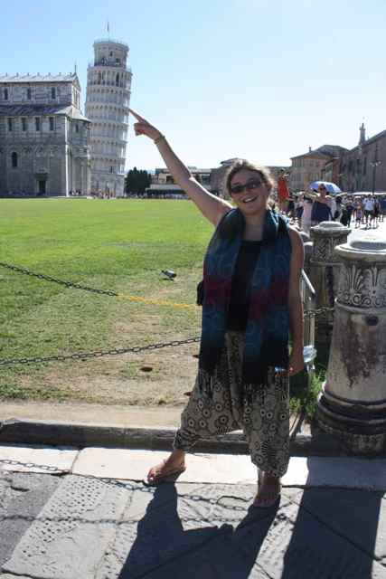 funny Leaning Tower of Pisa