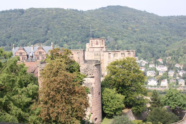 view of Heidelberg Castle