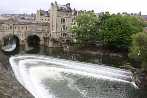 Bath bridge