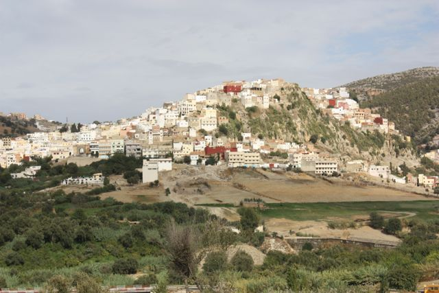 whitewashed houses of Moulay Idriss