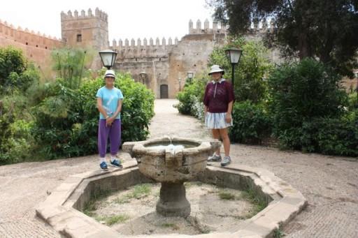 Rabat Kasbah gardens, Morocco