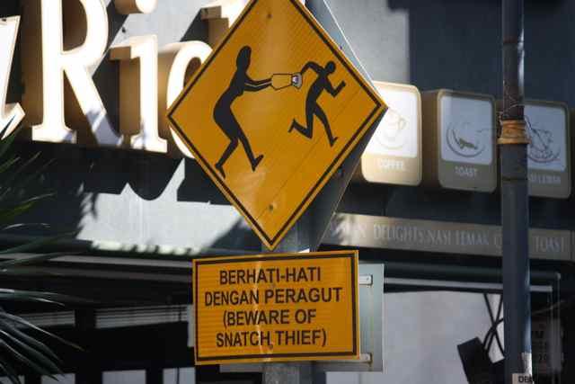 snatch thief essay