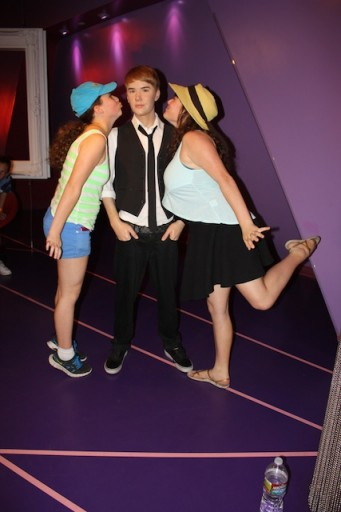 Justin Bieber at -Madame Tussauds Hollywood