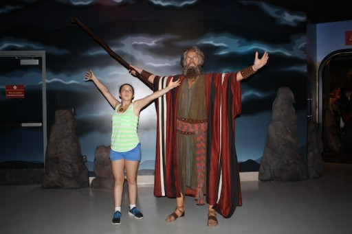 Moses in Wax