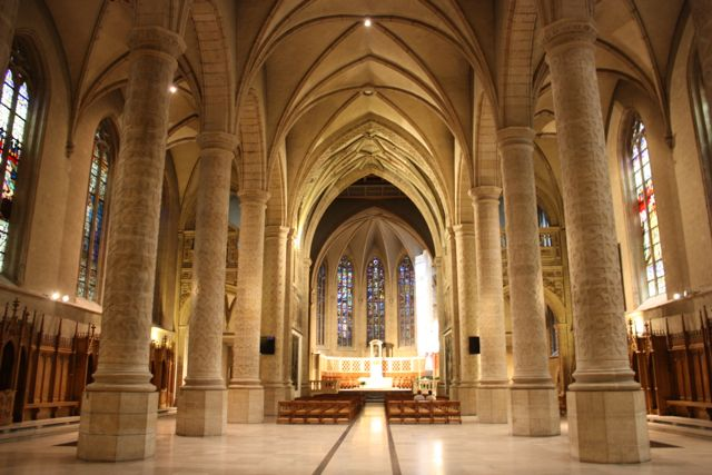 Notre-Dame Cathedral is the Roman Catholic Cathedral of Luxembourg City.