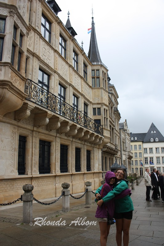 City Palace of the Grand Dukes in Luxembourg