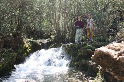 Moroccan Waterfall