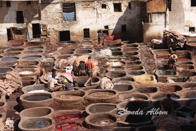 Chouara Tannery in Fez, Morocco - The Worlds Oldest Tannery