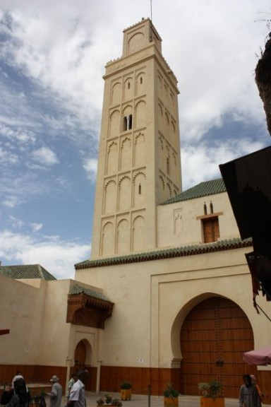 Main Mosque in Meknes Morocco
