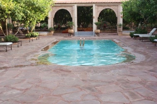 Swimming in Morocco