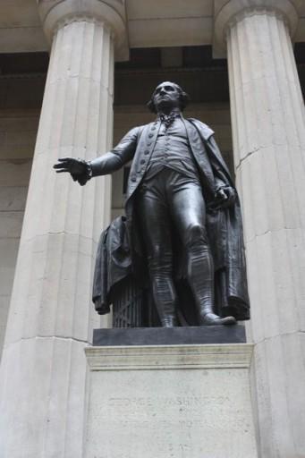 George Washington in New York City