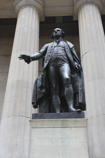 George Washington in New York City