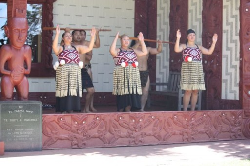women in maori culture show