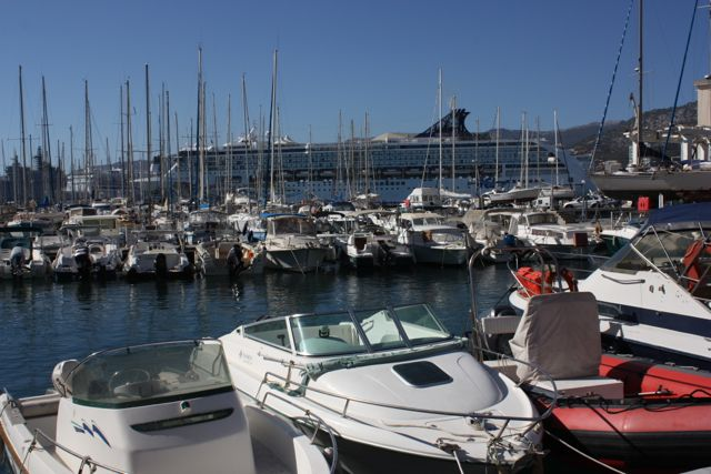 Marina in Toulon