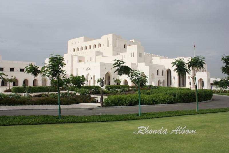 Royal Opera House, Muscat Oman. One of many beautiful opera houses.