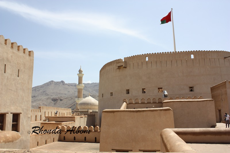 Nizwa Castle and Fort in Oman