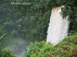 The rushing waterfall - Fuipisia Falls, Samoa