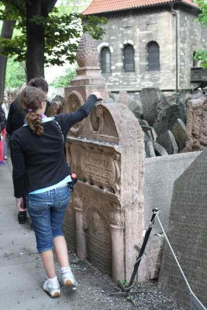 Jewish Cemetery in Prague