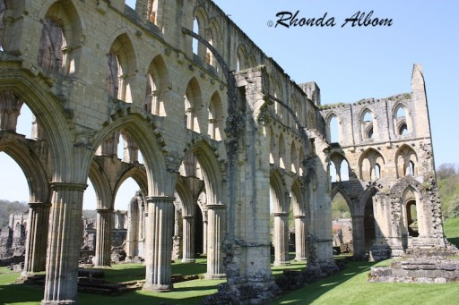 The stunning ruins of Rievaulx Abbey in North Yorkshire, England