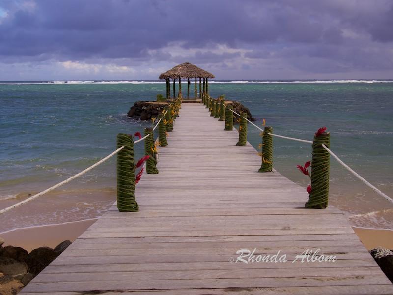 Boardwalk at Saletoga Sands Resort, Samoa
