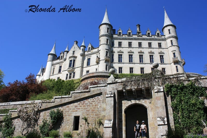Dunrobin Castle, the northern most castle in Scotland