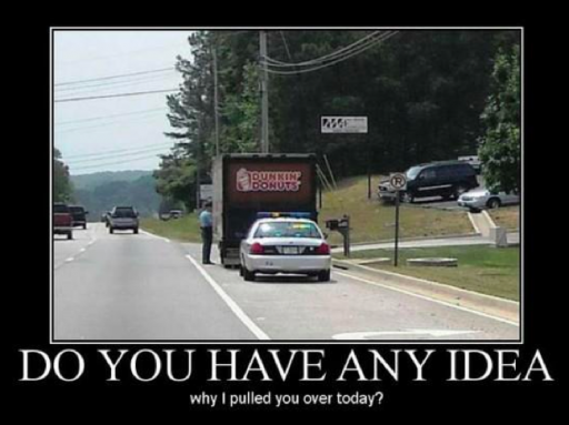 Just for fun, how about a few more police and donuts jokes: