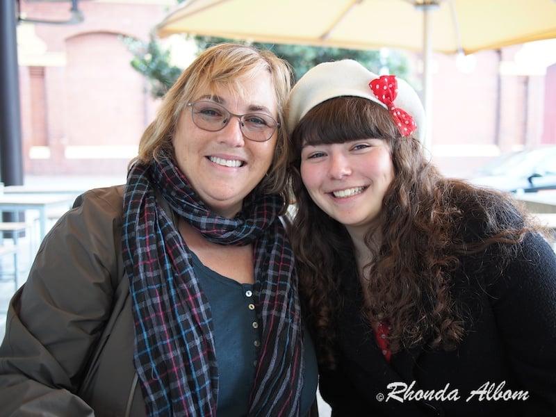 Rhonda Albom and Melissa