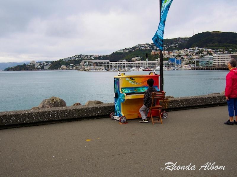 Piano on Wellington Waterfront
