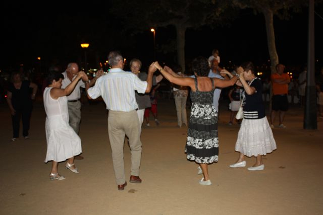 Dance of Sardanas in Costa Brava Spain