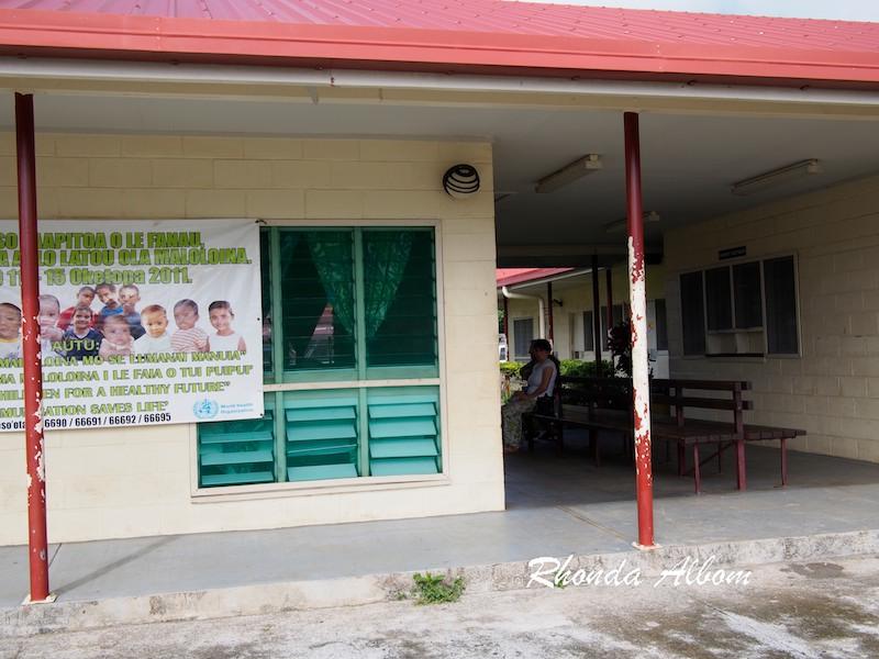 Hospital in Lalomanu Samoa