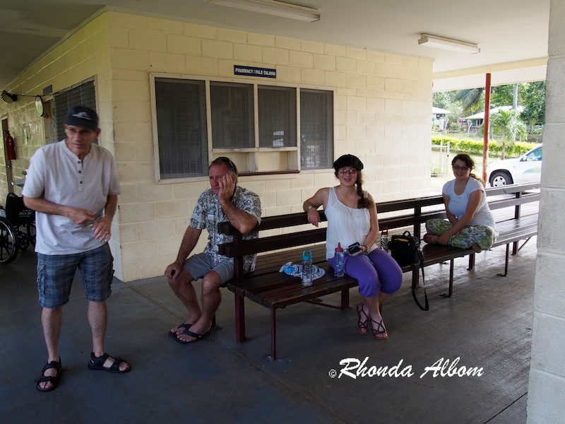 Waiting area for Hospital in Samoa