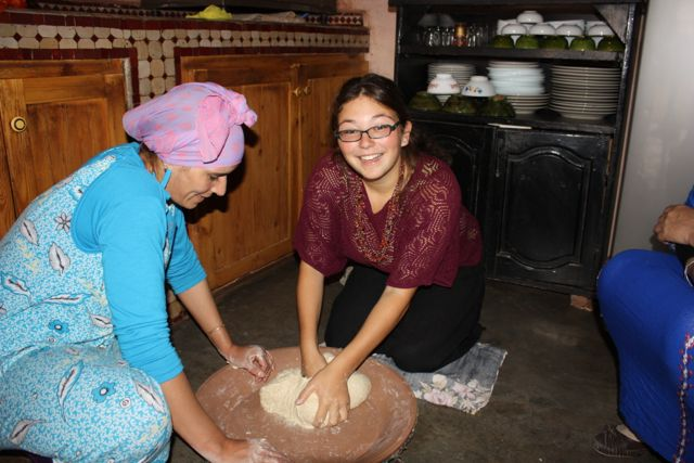 cooking with a berber family