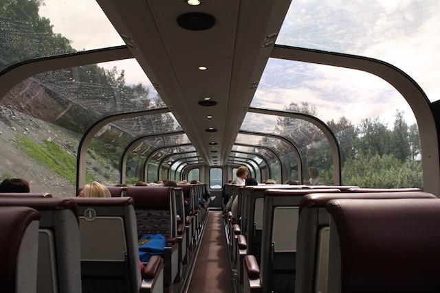 train from denali