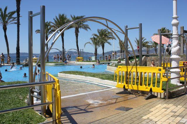 swimming pool in vigo